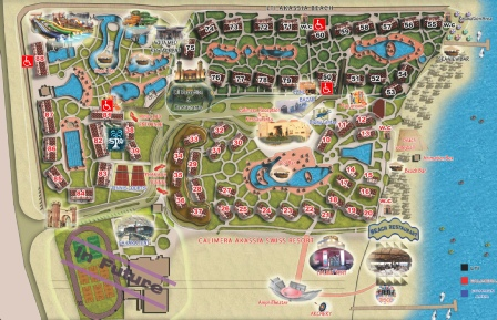 Akassia Swiss Resort Plan
